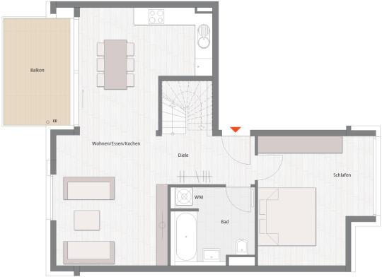 Фото №3 квартиры в Мюнхен за от 749.900 евро евро