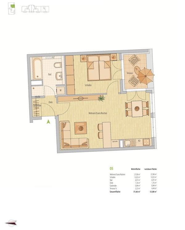 Фото №3 квартиры в Мюнхен за от 329.000 евро евро