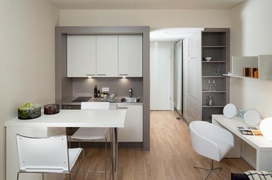 Фото №4 квартиры в Bogenhausen за 1100 евро