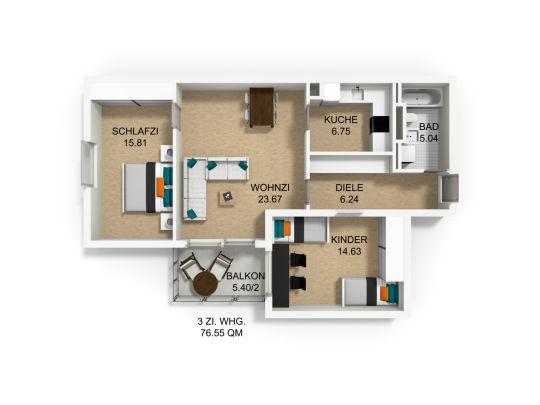 Фото №7 квартиры в Мюнхен за 410.000 евро евро