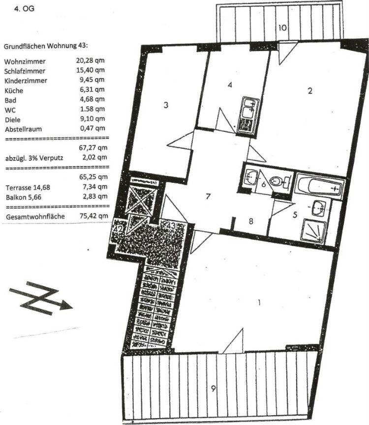 Фото №10 квартиры в Мюнхен за 499.000 евро евро